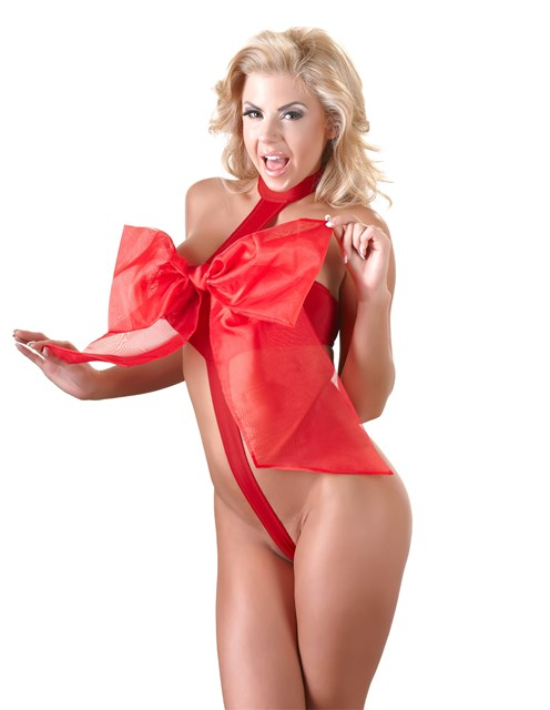 Sexy Bow Ribbon Gift Body